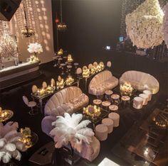 The Ballroom at Kris Jenner's 60th Birthday Party on November 06, 2015. (Courtesy of Instagram)