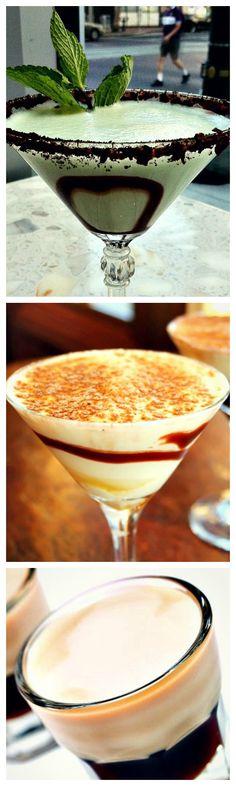 A list of top 10 #dessert #cocktail #recipes!