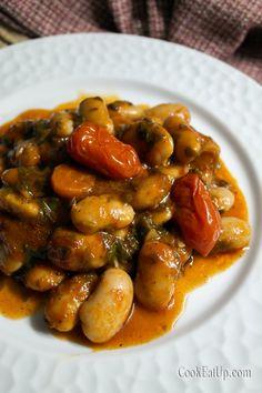 Bean Recipes, Vegetarian Recipes, Cooking Recipes, Greek Cooking, Greek Recipes, Clean Eating, Food And Drink, Menu, Favorite Recipes