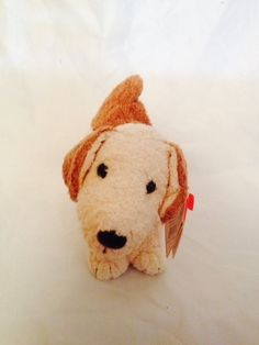 96dadbc677f Ty Beanie Babies Rufus the Puppy Dog DOB February 28