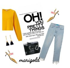 """Rebel Rebel"" by euphemiasun97 ❤ liked on Polyvore featuring Miss Selfridge, M.i.h Jeans, Prada, Versus, Chloé and modern"