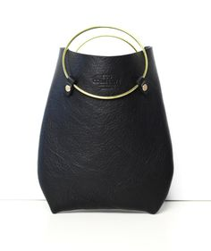 Leather Bag Purse Handbag Statement Bag the by EcoCollectiveAus