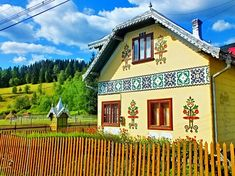 Ciocanesti - Artistic Village In Romania