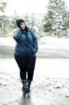 Lane bryant winter plus size jacket warm snow ski flagstaff arizona Plus Size Winter Jackets, Plus Size Winter Outfits, Plus Size Fall Outfit, Winter Outfits For School, Cozy Winter Outfits, Fall Outfits, Sexy Outfits, Winter Outfits Tumblr, Snow Outfit