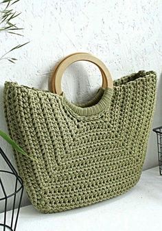 Crochet Bag Models Worth Seeing In August 2019 - Page 11 Of 40 - Womens Ideas - Knitting Bag Bag Crochet, Crochet Handbags, Crochet Purses, Crochet Baby, Crochet Pattern, Diy Crafts Crochet, Crochet Ideas, Bag Women, Leather Diy Crafts