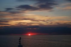 Sunset over the Baltic Sea