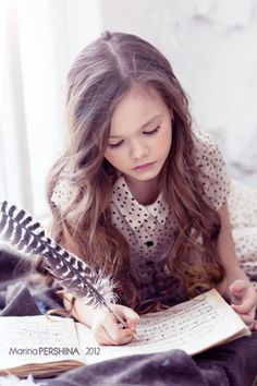 What a pretty little girl. :)