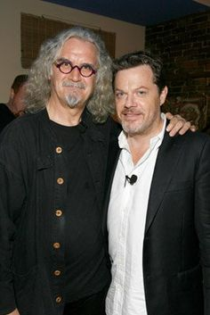 Eddie Izzard & Billy Connolly. So much awesomeness in one picture