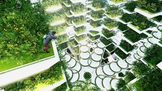The world's largest indoor farm has already proven just how amazingly successful food production can be outside of standard agricultural setups, and these 10 urban farm designs and concepts take th...