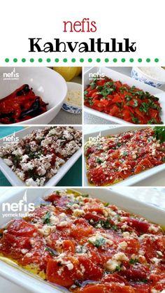 Fondue Recipes, Healthy Soup Recipes, Cooking Recipes, Naan Pizza, Turkish Breakfast, Wie Macht Man, Breakfast Items, Iftar, Turkish Recipes