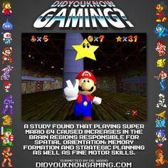 Super Mario 64.  http://www.mpg.de/7588840/video-games-brain