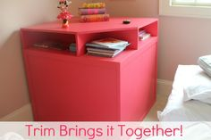 Twin bed corner unit DIY