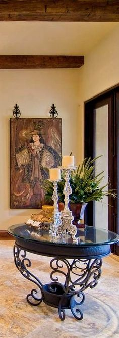 Rebecca vJustice Collection Old World, Mediterranean, Italian, Spanish & Tuscan Homes & Decor