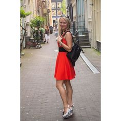 Me exploring Amsterdam  we were lucky to enjoy such a great weather early in May :) #tourist #amsterdam #me #instagood #igers #traveling #girl #travel #street #eurotrip #europe #travelgram #blonde #dress #fashion #lifestyle #photooftheday #outfit #love #awesome #style #instalike #life #streetlife #like #prada #selfie #picoftheday #beautiful #holiday by imknenne