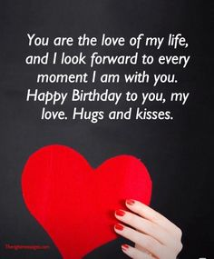 Short And Long Romantic Birthday Wishes For Boyfriend The with regard to Romantic Birthday Quotes For Him - Best Birthday Party Ideas Happy Birthday Quotes For Him, Birthday Wishes For Lover, Romantic Birthday Wishes, Birthday Message For Boyfriend, Birthday Wish For Husband, Birthday Wishes For Boyfriend, Birthday Messages, Birthday Greetings, Happy Birthday My Love