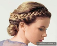 Greek - simple, not sure about the bun but I love the braid!