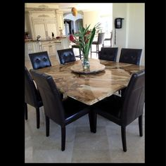 Marble Of The World, Sequoia Granite Table Top By Baronni Design Corp
