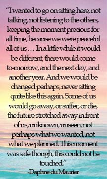 quote from Rebecca by Daphne Du Maurier