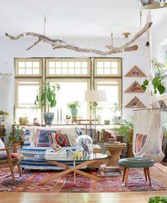 Nice 46 Inspiring Bohemian Style Home Decor Ideas. More at https://trendhomy.com/2018/03/06/46-inspiring-bohemian-style-home-decor-ideas/