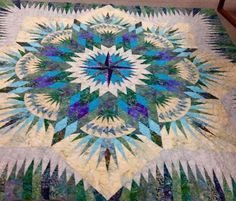 Prairie Star, Quiltworx.com, Made by Billie