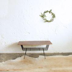 Table Basse Vintage   Métal   F384