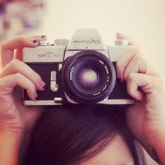 I have my dad's old Minolta; he bought it with his first pay packet at the age of 15. I adore it <3