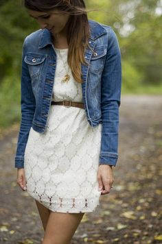 A Classic Denim Jacket Three Ways on Fine and Feathered
