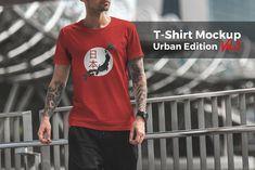 Download T Shirt Mockup Urban Edition Vol 3 By Mockup Cloud On Creativemarket Tshirt Mockup Shirt Mockup T Shirt