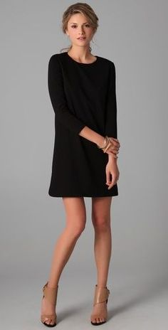 The perfect shift dress - a blank canvas for any accessories!
