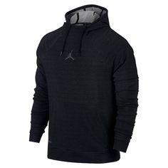 Jordan 23 Alpha Sphere Men's Pullover Hoodie, by Nike Size Medium (Black)