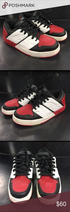 free shipping 5c944 82a07 Air Jordan NU Retro Low 2002 Nike Air Jordan NU Retro 1 low Red Black