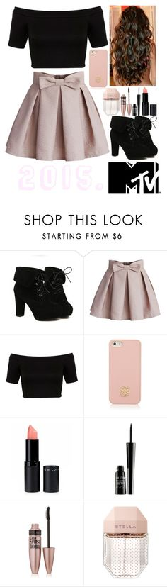 """""""MTV Movie Awards. 2015."""" by uniqu3ly-m3 ❤ liked on Polyvore featuring TURNOVER, Chicwish, Miss Selfridge, Tory Burch, Lord & Berry, Maybelline and STELLA McCARTNEY"""