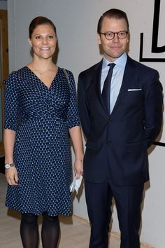 Pin for Later: 23 Couples de Célébrités Qui Vont Avoir un Enfant en 2016 Princesse Victoria de Suède