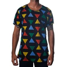 Triangle Tee Black, $45, now featured on Fab.