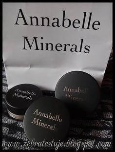 Zebra Testuje: Annabelle Minerals – Kosmetyki naturalne Minerals