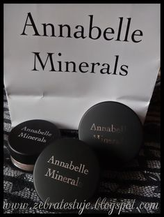 Zebra Testuje: Annabelle Minerals – Kosmetyki naturalne