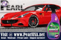 Pearl USA - High Performance Results. http://www.pearlusa.net/ #pearlcarcare #waterlesscarwash #pearlUSA #dealerswanted #pearlNano Visit @ http://lnkd.in/Usnb5q