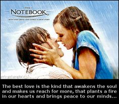 Love The Notebook!! My fav movie of all time for sure