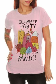 $24.50 Adventure Time Slumber Party Panic Girls T-Shirt 2XL #Clothes