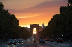 Arc de Triomphe by Wilhelm Chang on Last Tango In Paris, Triomphe, Arc, One And Only, Golden Gate Bridge, Good Things, Traveling, Viajes, Trips
