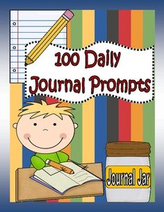 Inside you will find 100 creative and thought provoking journal prompt cards to get your students excitied about writing! These prompts are aligned to the Common Core Standards and will make journal time fun and easy with little prep work! Each prompt comes on a colorful card. Also included are ways to implement journal time in your classroom, ideas for when students can journal, suggestions for sharing and assessing student journals and a printable student friendly rubric.