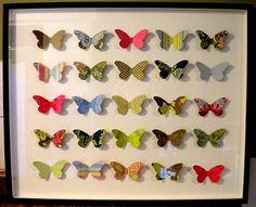Murales mariposas Butterfly 4st 20x20cm nº 51