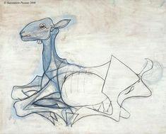 Pablo Picasso, La Chèvre