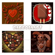 Chocolate Lovers - Digital Collage Sheet by barbosaart for $3.99