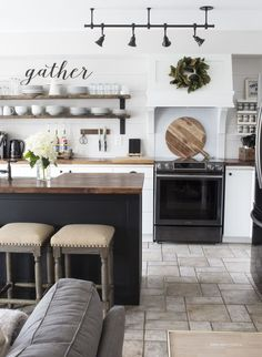 OUR MODERN FARMHOUSE KITCHEN MAKEOVER The Reveal ONE ROOM CHALLENGE� SPRING 2017 WEEK 6 via @akadesigndotca