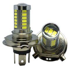 2Pcs 4014 12SMD Car Fog Lamps DR L Eagle Eye Light Ampoule à LED