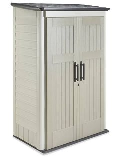 Rubbermaid 3746 Deep Large Vertical Storage Shed, 52-inch x 77-inch x