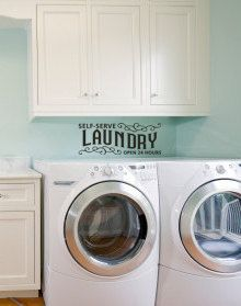 Self Serve Laundry Vinyl Decal by Remarkable Walls on Etsy, $15.00