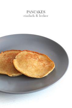 Aus der Küche // Dinkel-Weizen Pancakes. / a lovely journey   Inspirationen + DIY für junge Familien