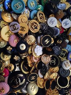 Chanel buttons everywhere!!!!
